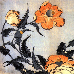 hokusai_coquelicots_mini